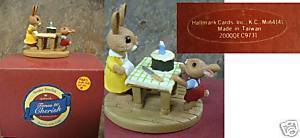 Hallmark Tender Touches - Rabbits with Cake