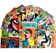 Spectacular Spider-Man Comic Book Lot 14 Issues Marvel Copper Age Doctor... - $24.70