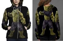 hulk costume marvel img Hoodie Zipper Women's - $48.99+