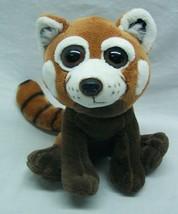 """The Petting Zoo CUTE SOFT BIG EYED RED PANDA 7"""" Plush STUFFED ANIMAL Toy - $15.35"""