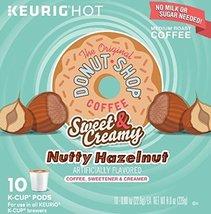 The Original Donut Shop Sweet & Creamy Nutty Hazelnut 10 K-cup 2-pack - $39.55