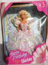 Mattel Happy Birthday Barbie 1995 Vintage Doll Prettiest Present of All 14649 - $27.99