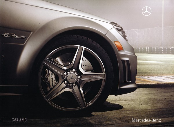 2008 Mercedes-Benz C63 AMG sales brochure catalog 08 US