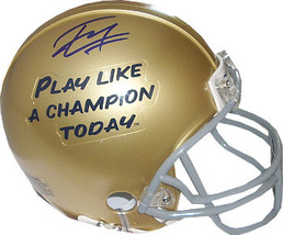 Tyler Eifert signed Notre Dame Fighting Irish Play Like A Champion Today... - $58.95