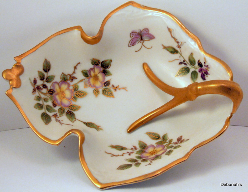 Ardalt Lenwile Candy Dish Nut Bowl Occupied Japan Porcelain Bisque China