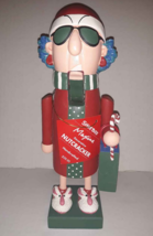 "Hallmark Maxine Nutcracker 11"" Old Lady in Santa Hat and Bunny Slippers ... - $17.77"