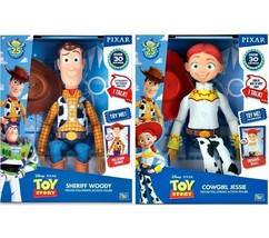 Toy Story Talking Doll Lot Jessie & Woody 25th Anniversary NEW - $98.98