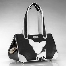 JCLA Chi-B-FL Te Quiero Chihuahua Faux Leather, Black - $217.27