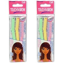 KAI TOUCH N BROW Eyebrow Razor ( Pack of 2 ) - $9.68