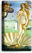 BIRTH OF VENUS SANDRO BOTTICELLI LIGHT SWITCH 1 GANG PLATES HOME ROOM AR... - $9.99