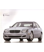 2003 Mercedes-Benz S-CLASS brochure catalog US S 500 600 V12 S55 AMG - $12.00