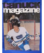 NHL Vancouver Canucks Hockey Magazine Vintage Collector October 9 1974 S... - $9.95
