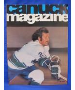NHL Vancouver Canucks Hockey Magazine Vintage Collector October 22 1974 - $9.95