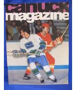 NHL Vancouver Canucks Hockey Magazine Vintage Collector October 29 1974 ... - $9.95