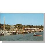 Hyannis Mass/MA Postcard, Harbor, Cape Cod - $7.00
