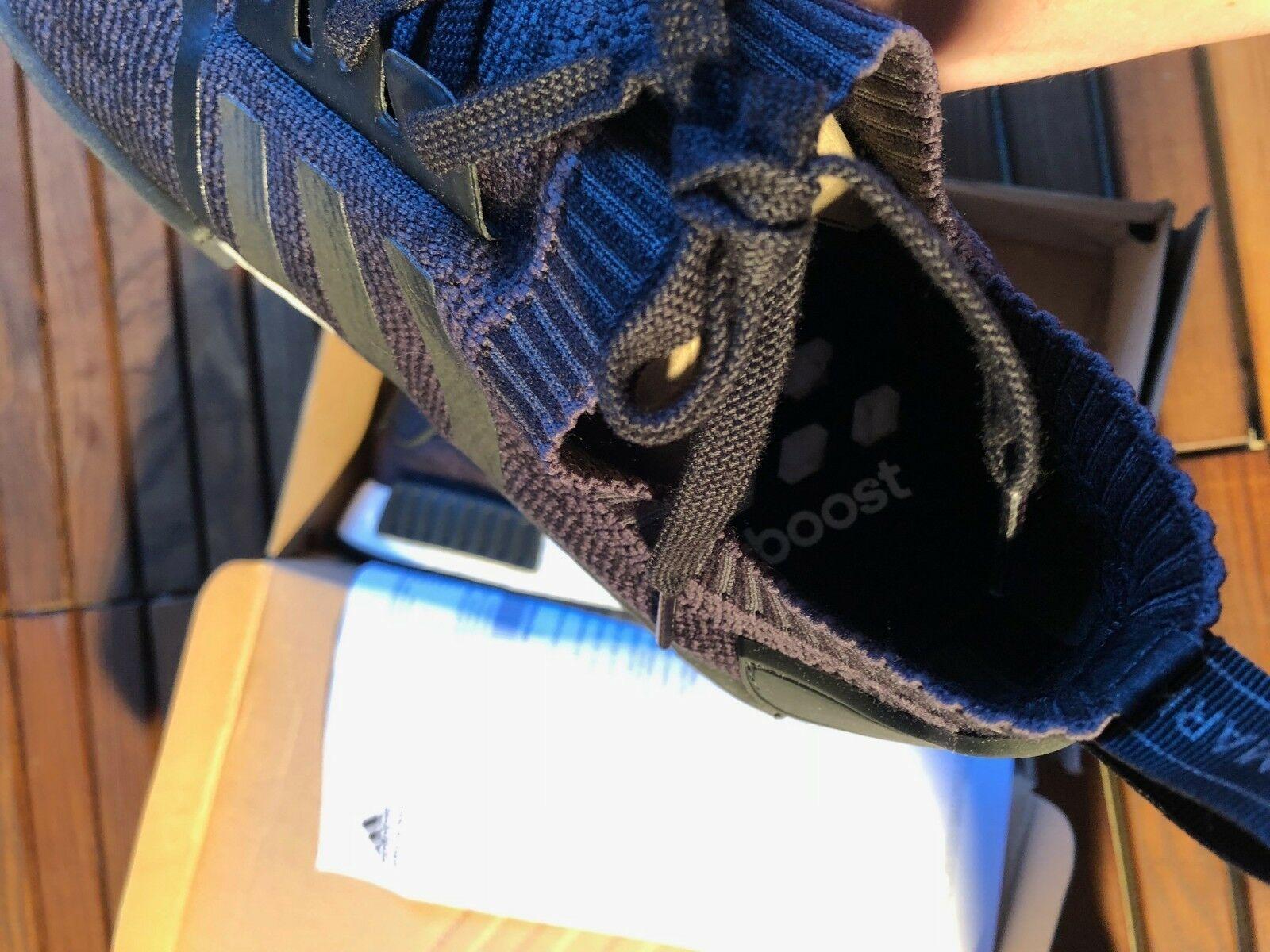Adidas Black Primeknit Wool Runner Size 48 2/3 New image 6