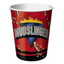 Mudslinger Monster Truck Cups 9 oz Birthday Party Supplies 8 Per Package... - $3.85