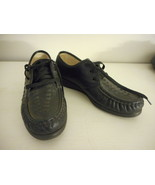 Black Womens Size 7.5 N Lace up Soft Spot Shoes little to no wear - $24.74