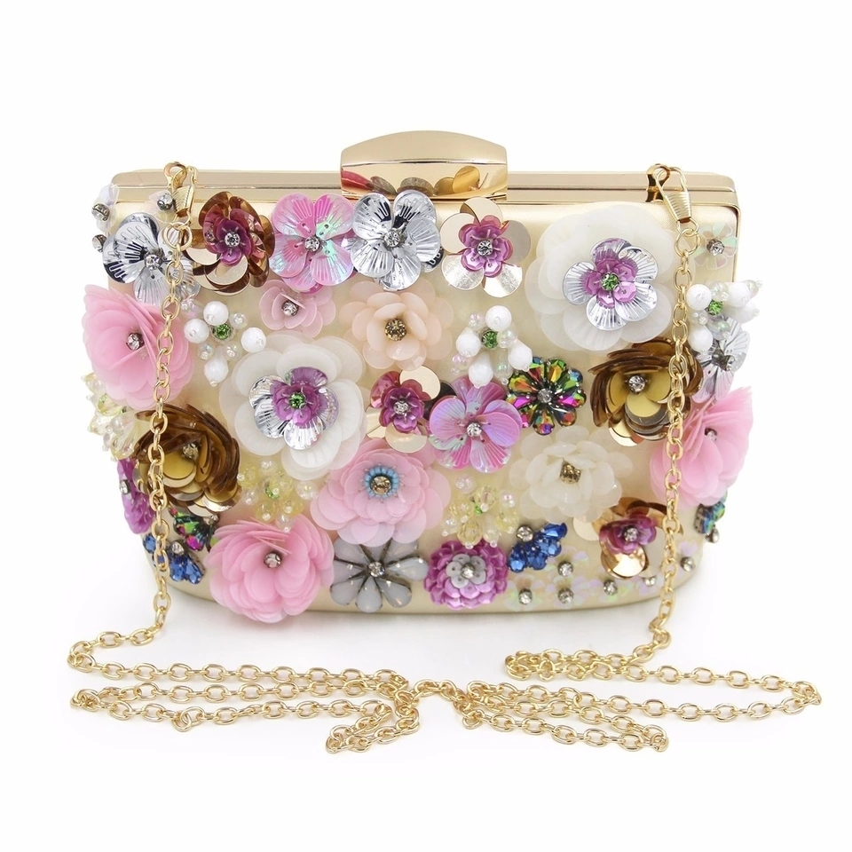Primary image for Floral pattern clutch