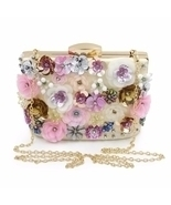 Floral pattern clutch - $79.61 CAD