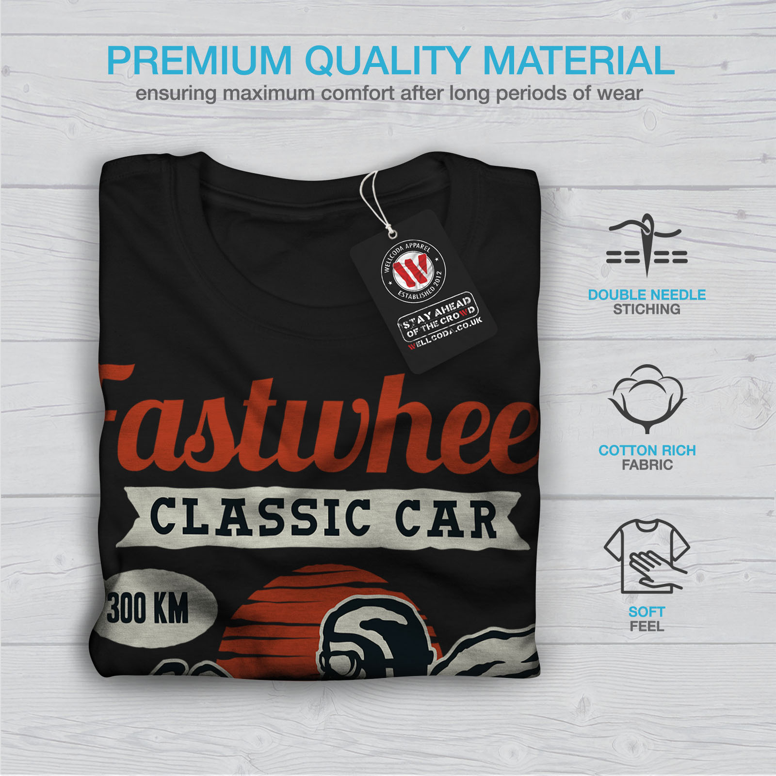 Fast Wheel Classic Car Shirt Women T Shirt