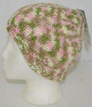 John Deere LP67784 Green White Pink Brown Knitted Hat Acrylic image 4