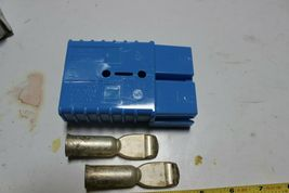 Daniel Woodhead 49220, 913412-5 Battery S Connector Blue 48V 2/0 Wire (.484) New image 4