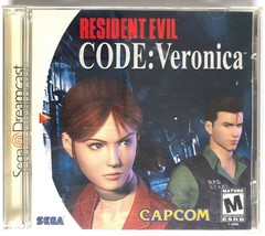 ☆ Resident Evil CODE Veronica (Sega Dreamcast) AUTHENTIC Complete in Cas... - $27.99