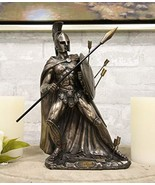 Ebros Gift Ferocious King Leonidas of Sparta with Javelin Spear and Roun... - €51,45 EUR