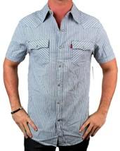 NEW NWT LEVI'S MEN'S COTTON CLASSIC SHORT SLEEVE BUTTON UP DRESS SHIRT 8150428