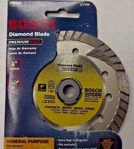"Bosch DB463 Premium Plus 4"" Turbo Continuous Rim Diamond Saw Blade - $9.90"