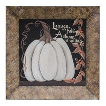 Leaves are Falling Pumpkin Plate - $73.73