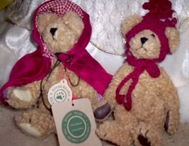 Lot BOYDS Colleen & Fitzgerald O'Bruin Bears,Red Riding Hood + The Queen Pin Ret - $19.00