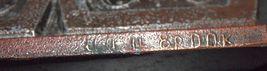 Vintage 3 Branch Heavy Metal Candlestick Candle Holder Aztec Children Signed image 7