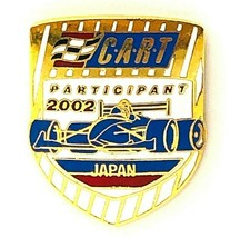 Indy Cart Participant 2002 Japan Hat Pin - $14.99