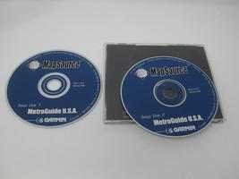 GARMIN MetroGuide U.S.A. Version 4.02 V4.02 2 Discs - $12.99