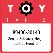 89406-30140 Toyota Sensor Subassy, New Genuine OEM Part - $195.66