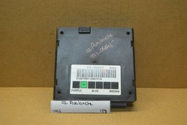 2002 Chevrolet Avalanche Body Control Module BCM 15063577 Unit 138-10E6 - $24.49