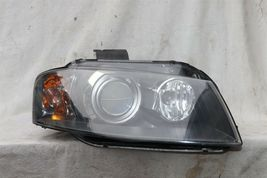 06-08 Audi A3 Xenon HID Headlight Head Light Lamp Passenger Right RH POLISHED image 3