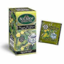Mlesna Soursop Green Ceylon tea 30 Bags, 60g - $11.39