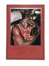 1997 Upper Deck Michael Jordan Card #20 Chicago Bulls Memorable Moments - $2.65