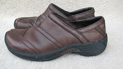 Merrell SHOES Performance Footwear Woman's 6.5 Brown Leather Loafers Quality Wow
