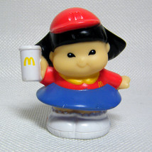 Fisher Price Little People SONYA LEE McDonalds Figure 2003 - $3.50