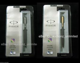 Parker Set of Vector Matte Black GT and CT Ball Pen Ballpens New Sealed ... - $21.99