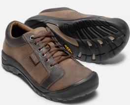 Keen Austin Talla 9M (D) Eu 42 Hombre Cordones Oxford Zapatos Casual Marrón