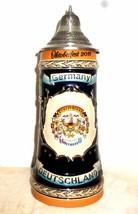 Munich Oktoberfest 2011 Wiesn lidded German Beer Stein - $18.95