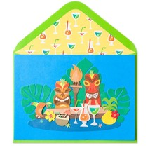 Tiki Birthday Papyrus Card - $4.50
