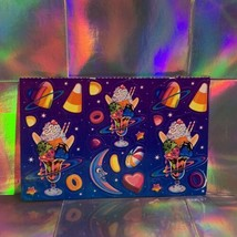 Half Sheet Lisa Frank Galactic Ice Cream Sundae Outer Space HTF Sticker Sheet