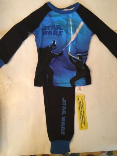 Primary image for Star Wars Kids Pajama Outfit Set 4-5 Years