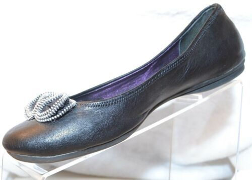 "Primary image for STYLE & CO. Pump 1/4"" Heel Black Flat Ornament Over Toe WOMEN'S SIZE 9 M (2796)"